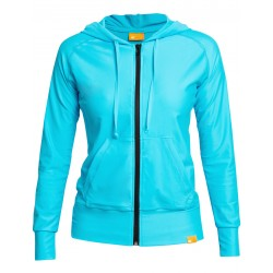 iQ UV Hooded Jacket Women Casual & Outdoor Turquoise