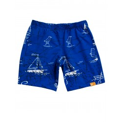 iQ UV 230 Boardshorts Sea Kids Blue