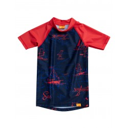 iQ UV 230 Shirt Sea Kids Dark Blue