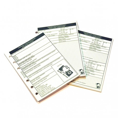 iQ Logbook Refill Medium